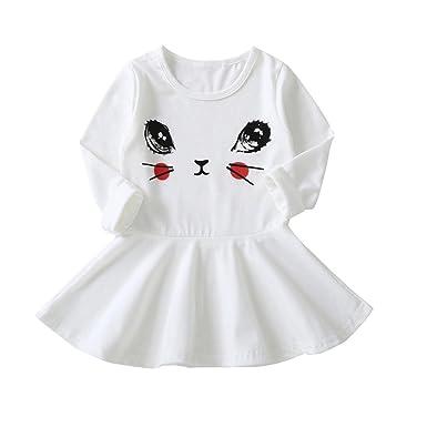 Vestidos Niña, ASHOP Vestido de Niñas Boda Fiesta de Princesa en ...