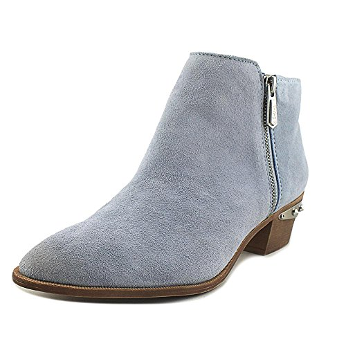 Crom Sam Ankle Velour Suede Boot by Metallic Blue Holt Women's Edelman Opal Circus aqFw7ar