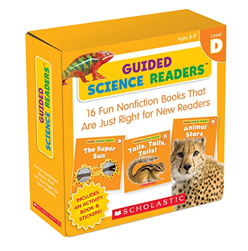 Guided Science Readers Parent Pack: Level D: 16 Fun Nonfiction Books That Are Just Right for New Readers