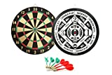 GameRoomGo 2 in 1 Dartboard