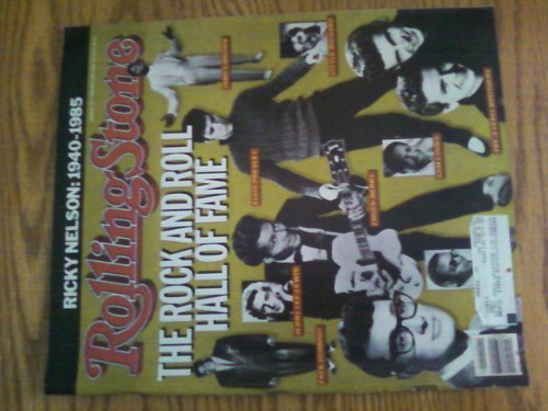 Rolling Stone Magazine Feb. 13, 1986 Issue 467 Rock and Roll Hall of Fame Cover