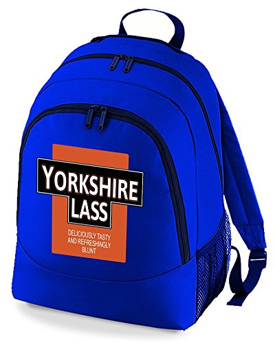 Rucksack Royal Funny Deliciously Backpack Unisex Yorkshire Lass Bag Blunt Tasty And Refreshingly zBPTq