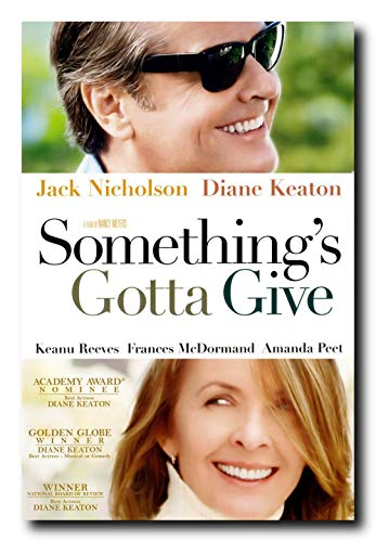 Mile High Media Something's Gotta Give Movie Poster 24x36 Inch Wall Art Portrait Print