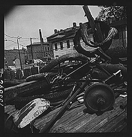 Amazon com: HistoricalFindings Photo: Scrap Salvage Campaign