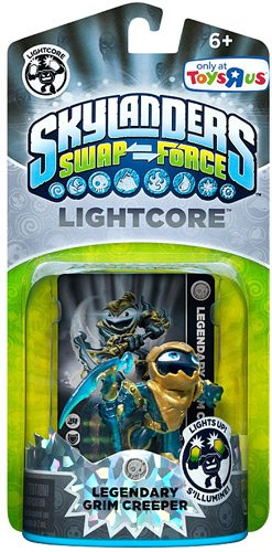 Skylanders SWAP FORCE Exclusive Legendary Character Pack Lightcore Grim Creeper