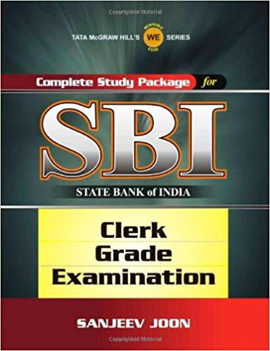 Buy Complete Study Package for SBI (Clerk Grade Exam) Book Online at