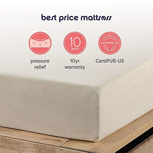 home, kitchen, furniture, bedroom furniture, mattresses, box springs,  mattresses 3 discount Best Price Mattress 6-Inch Memory Foam Mattress in USA