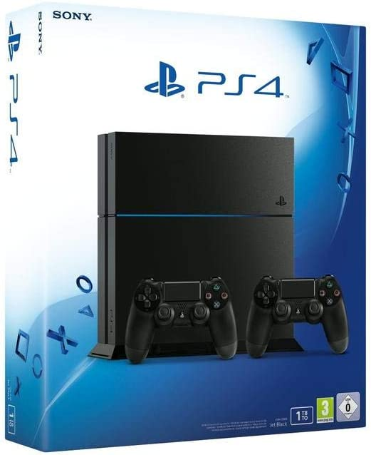 PlayStation 4 (PS4) - Consola Ultimate Player 1TB Edition incl. 2 ...