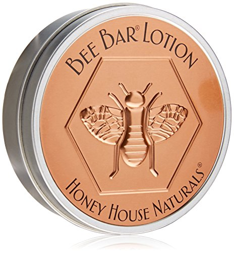 Honey House Naturals Bee Bar, Hawaiian, Large, 2 Ounce Natural Solid Lotion Bar