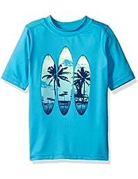 The Children's Place Boys' Graphic Rashguard Swim Shirt