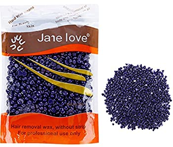 Hair Removal Wax Beans Depilatory Granules Body Hard Wax for Woman and Man (Lavender)