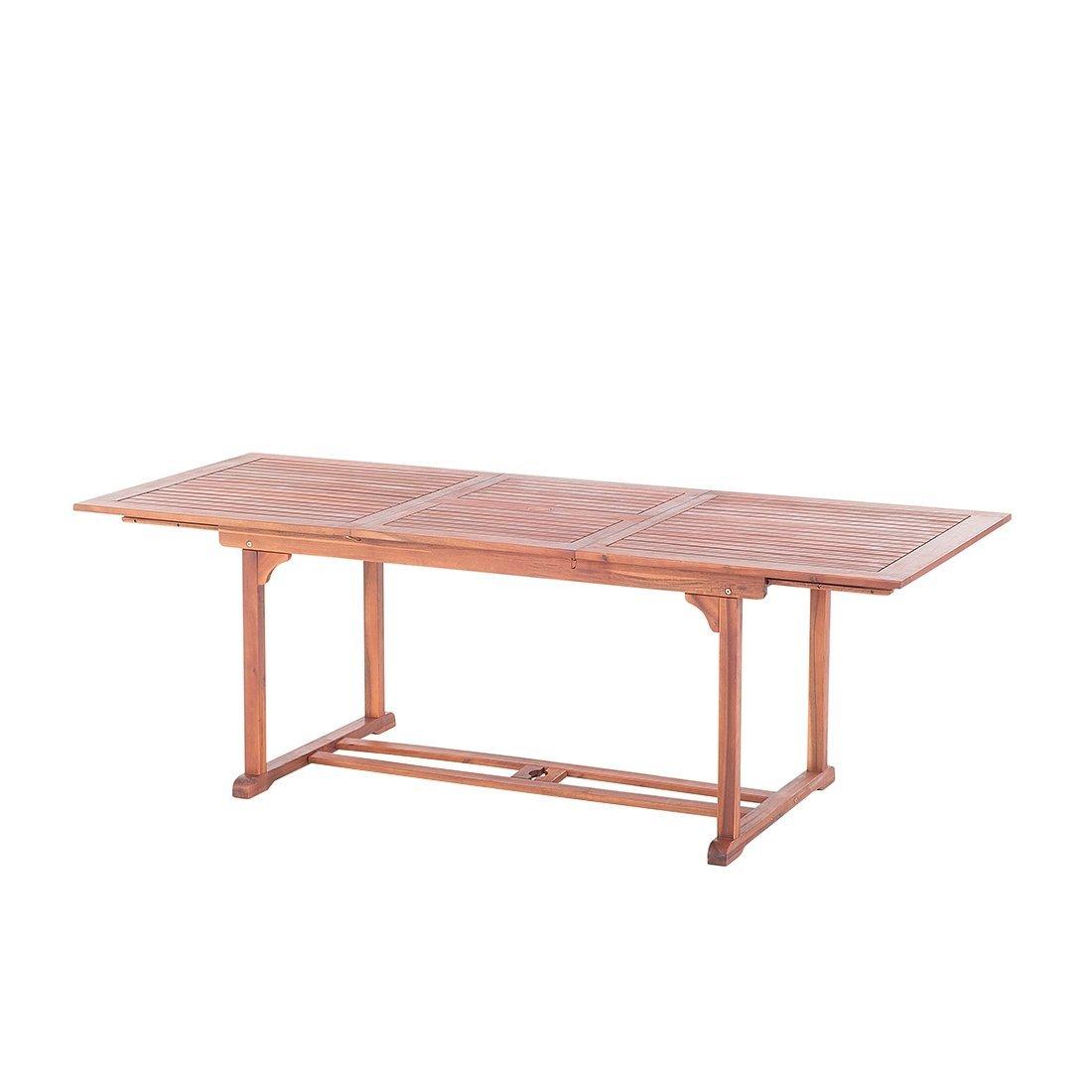 Holz Gartentisch - Esstisch ausziehbar - Holztisch - Gartenmöbel ...
