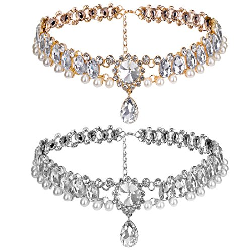 Elegant Pearl Diamond Necklace - 7