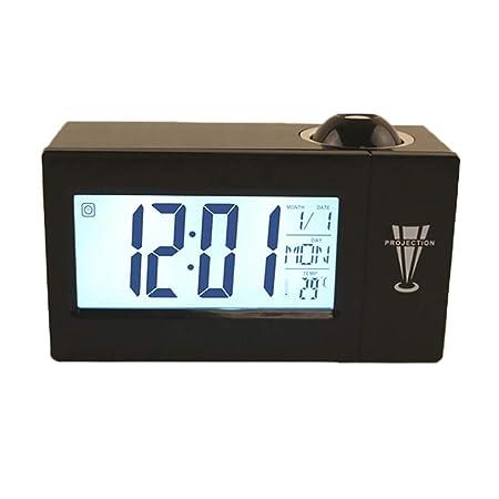 Houkiper Reloj Multifunción de Proyección Digital, Pantalla ...