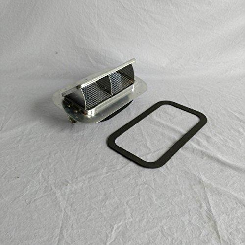 (Aluminum Low Profile Popup Roof Vent Air Flow Horse Trailer Utility Cargo & Gasket 622062 )