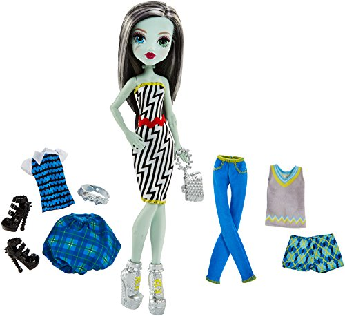 Monster High Lots of Looks Frankie Stein & Fashion - Outfits Monster High