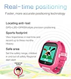 Kids Waterproof Smartwatch with GPS Tracker