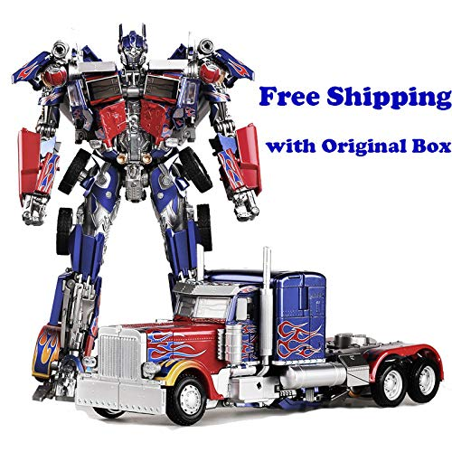 LS-03 OP Commander Transformer Optimus Film MPM04 Oversize Enlarge Alloy Diecast Action Figure Robot KO Toys Gifts( with Original Box)