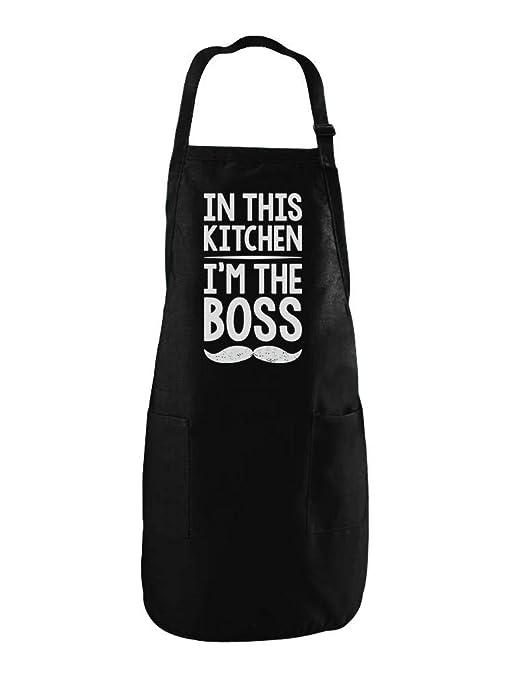 En Esta cocina I m The Boss gracioso regalo para mamá y ...