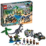 LEGO Jurassic World - Baryonyx Face-Off: The Treasure Hunt Park Costruzioni