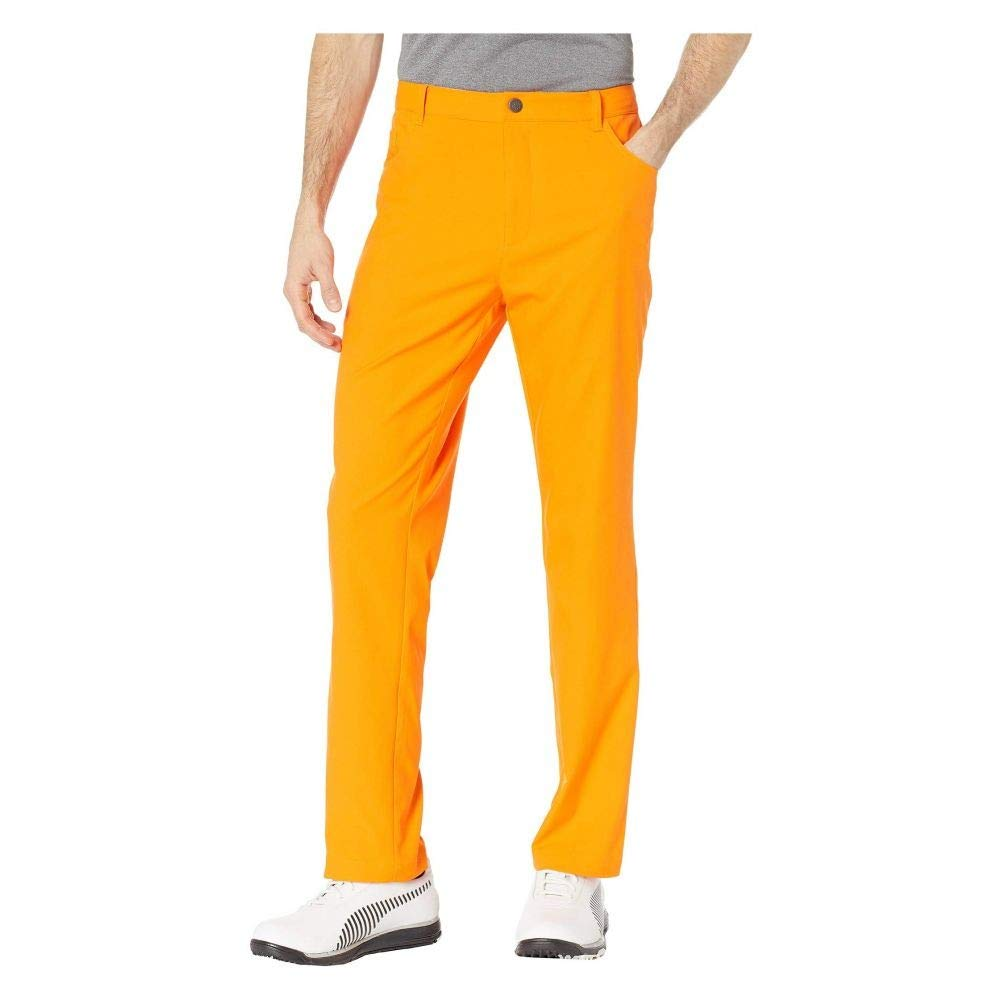 PUMA Golf (プーマ) メンズ ボトムスパンツ Jackpot Five-Pocket Pants Vibrant Orange サイズ28X32 [並行輸入品]   B07NB7JWWX