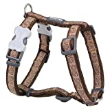Red Dingo Hypno Brown Large Dog Harness
