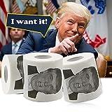 JieYaLa Donald Trump Toilet Paper
