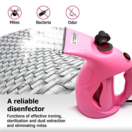 Business100 Portable Steamer, 200ML Portable Garment Steamer,Steamer for Clothes, Heat-up Premium Fabric Steam Cleaner, Safe, Lightweight & Perfect Clothing Steamer for Travel Home by Business100 (Image #3)