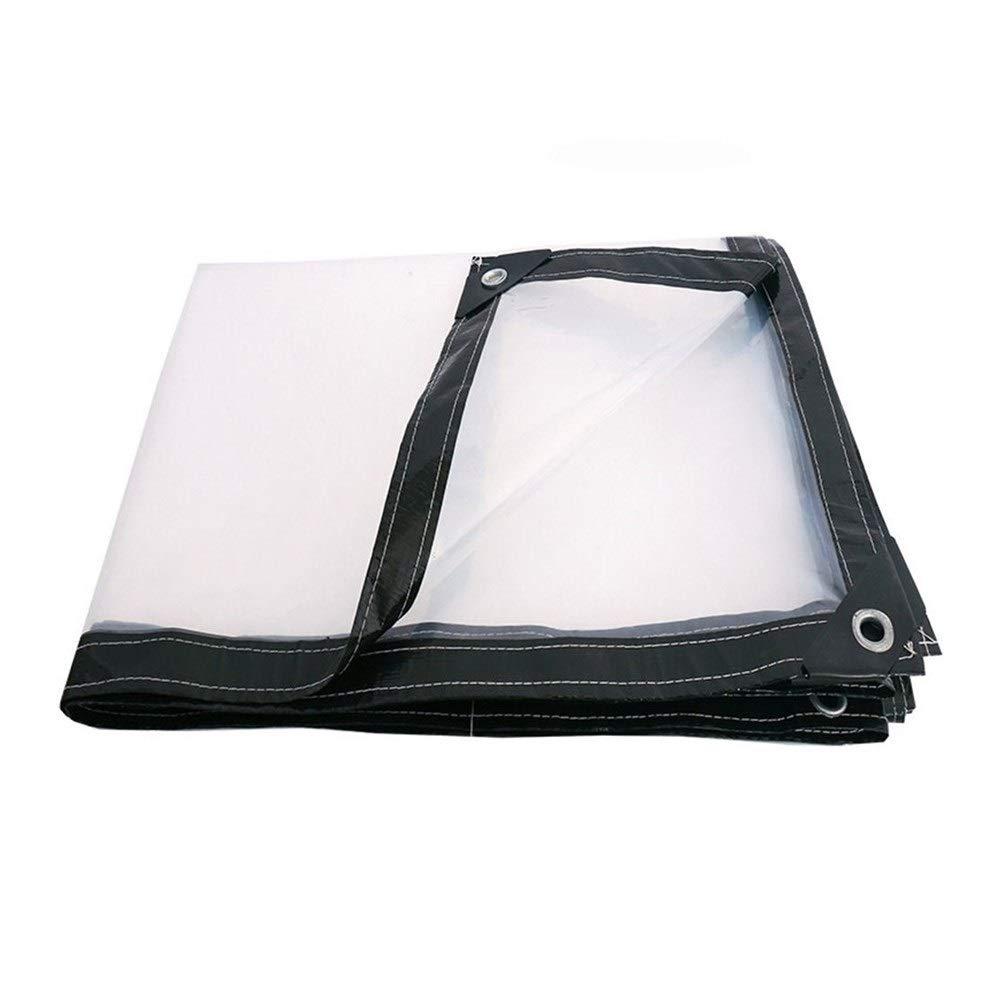 Clear 3x3m Wangcfsb Toit de Poncho Succulent de Balcon en Plastique de Pare-Brise de Pare-Brise en Plastique de bÂche en Caoutchouc de Verre Doux de PVC (Couleur   Clear, Taille   4x4M)