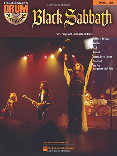 Black Sabbath: Drum Play-Along Volume 22 (Book/CD) (Play Songbook Along Drum)