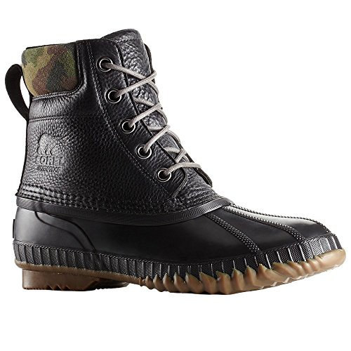 Sorel Men's Cheyanne II Premium Boots, Black/Alpine, 10.5 M US