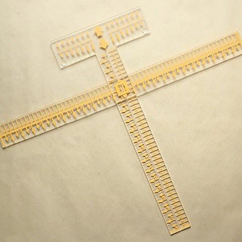 LoveMyTSI Tee Square It I Alignment Tool for Heat Transfer Vinyl, Rhinestones, Sublimation, Transfers by LoveMyTSI