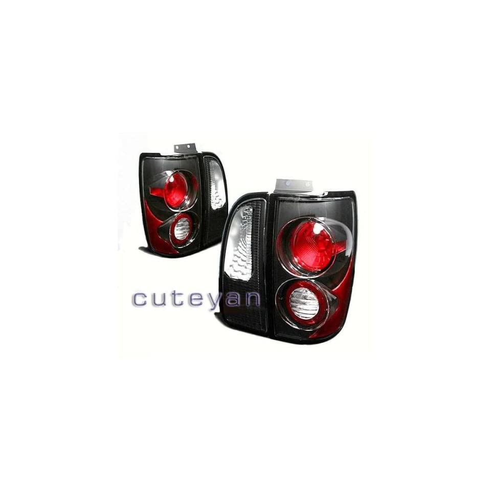Lincoln Navigator Tail Lights Black Altezza Taillights 1998 1999 2000 2001 2002 98 99 00 01 02
