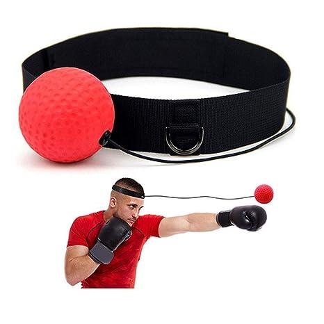 Isuper Boxeo Reflejo de la Bola para el Boxeo MMA y Muay Thai Hand ...