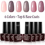 Best Gel Nail Polish Kits - Gellen UV Gel Nail Polish Kit 6 Pastel Review