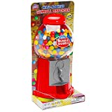 Wall Mounted 10.5-Inch Gumball Machine Dispenser with Gumballs - Best Reviews Guide