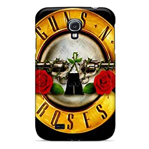 Samsung Galaxy S4 ATl10337JyMq Provide Private Custom Stylish Guns N Roses Pattern Excellent Hard Cell-phone Case -MansourMurray