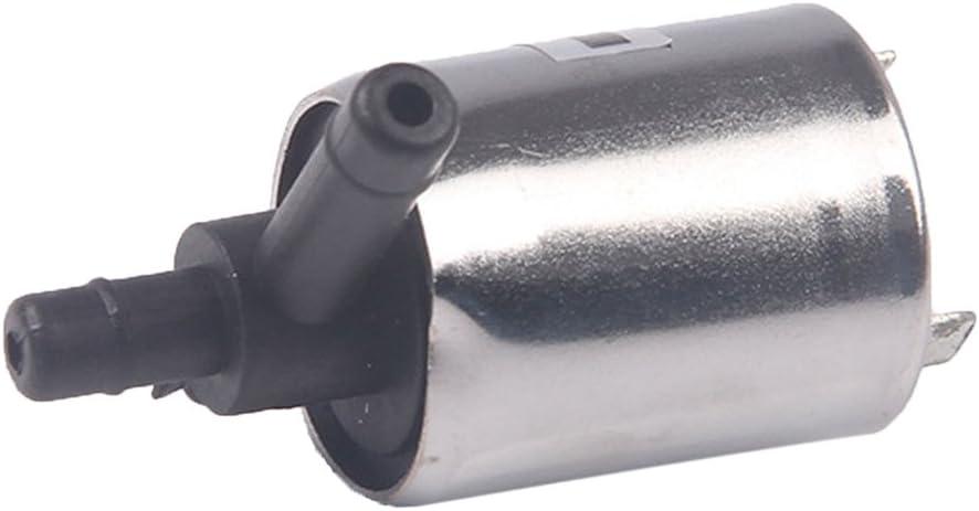 12V/24V DC Mini Válvula de Solenoide Abierta/Cerrada para Agua de Gas de Aire - DC 12V