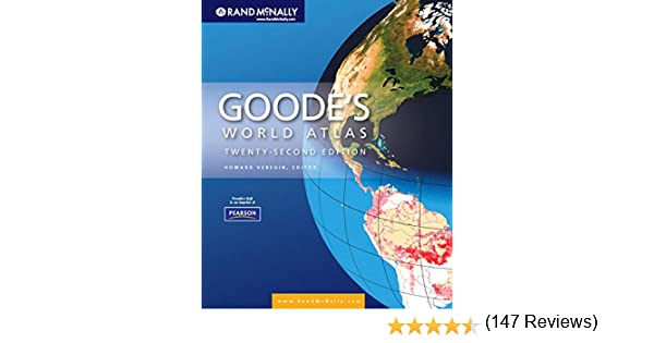 Goode's World Atlas (22nd Edition): 9780321652003: Reference Books ...