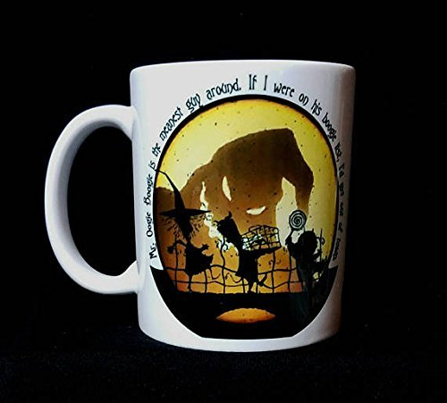 Nightmare Before Christmas Costumes Lock Shock And Barrel (Nightmare Before Christmas Inspired: Oogie Boogie & Lock, Shock, and Barrel 11oz Coffee Mug, 15oz, coffee mug, tea cup)