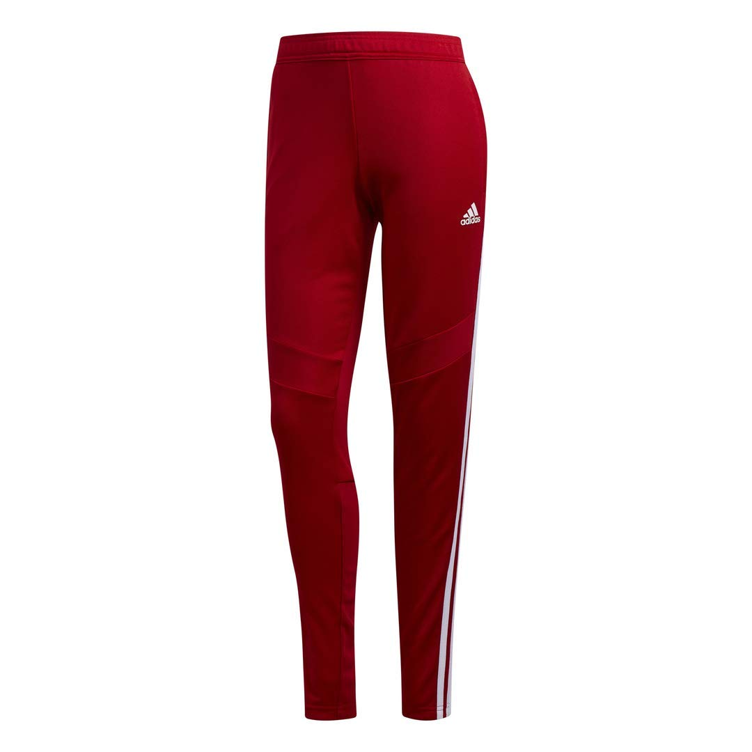 adidas Women's Tiro19 Training Pants, Power Red/White, Large by adidas