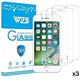 "Glass Screen Protector, Zouxin iPhone 6, 6s,7,8 Screen Protector,Premium Tempered Glass with 99.99% HD Clarity and 3D Touch Accuracy [4.7"" inch] [3-Pack]"