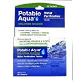 Potable Aqua Chlorine Dioxide Tablets Box of 30