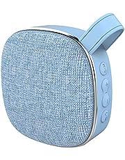 Digitalkey Głośnik nowoczesny design 5.0 – przycisk do selfie – bezprzewodowy stereo przenośny – niebieski