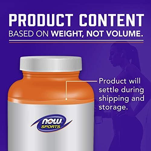 NOW Sports Nutrition, L-Glutamine Pure Powder, Nitrogen Transporter*, Amino Acid, 1-Pound 9