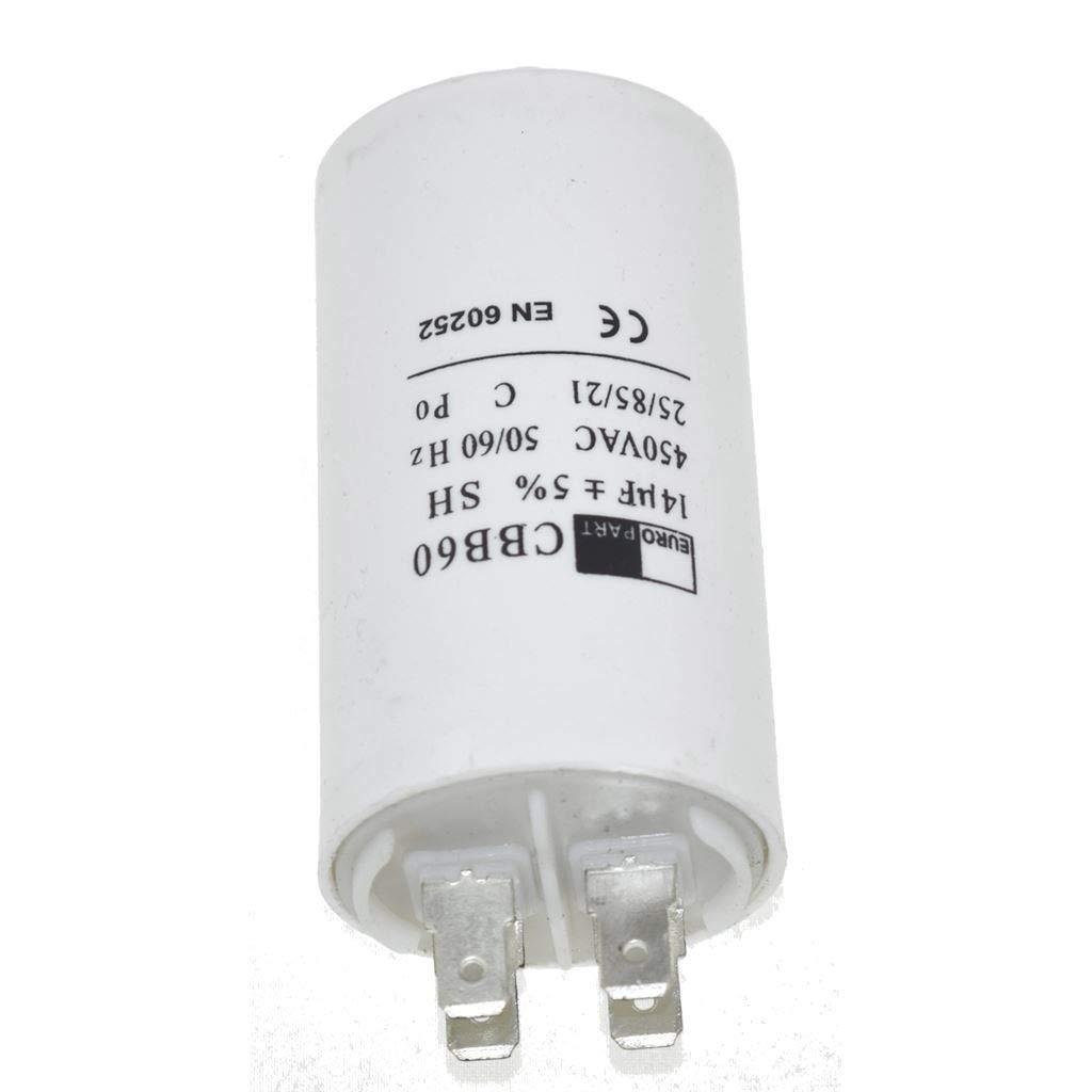 Universal 8UF Microfarad Appliance Motor Start Run Capacitor