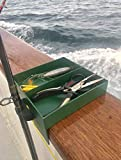 Rod N' Box Adjustable Fishing Rod and Accessories Holder for Boats and Piers For Sale