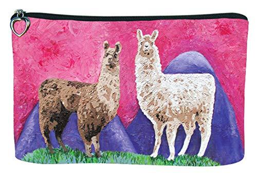 Llama Cosmetic Bag, Zip-top Closer - Taken From My Original -