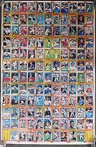 1990 Topps Baseball Uncut Sheet With Frank Thomas Rookie Nolan Ryan