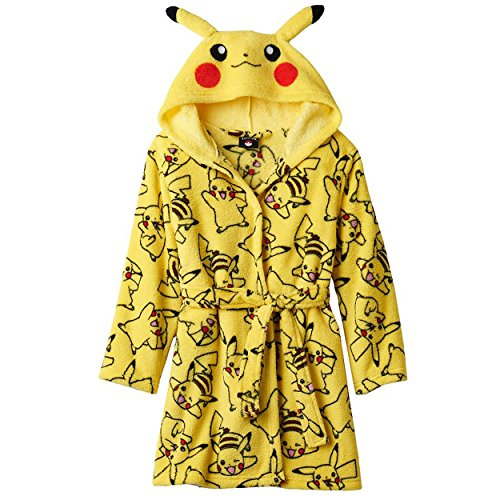Pokemon Pikachu Print Childrens Robe product image
